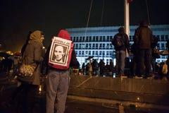 Протест в Словении Стоковое Изображение RF