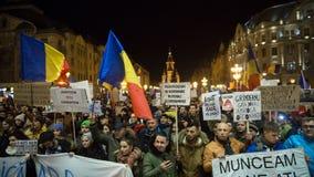 Протест в Romaia Стоковое Изображение