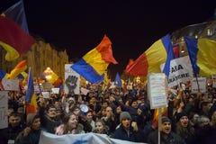Протест в Romaia Стоковая Фотография RF