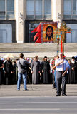 протест европы moldova Адвентиста anti Стоковая Фотография