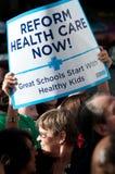 протест здоровья внимательности Стоковые Фото