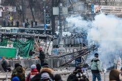 Протест против Стоковая Фотография