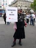 Протест улицы Стоковое Изображение RF