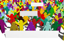 протест Стоковые Фото