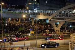 Протест 9/7/12 студента Hong Kong Стоковые Фото
