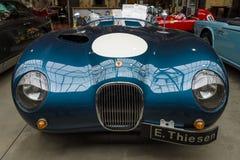 Протеус ягуара автомобиля спорт гонок C типа Стоковое Изображение