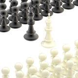 противовключение зачатия конкуренции шахмат Стоковые Фото