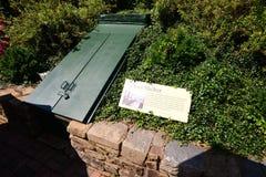 Противорадиационное убежище на имуществе Hillwood Стоковые Фото