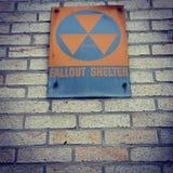 Противорадиационное убежище Стоковое Фото