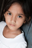 против азиатской стены philippines девушки стоковое изображение rf