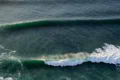 против ветра волн Стоковые Фотографии RF