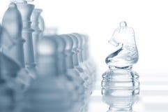 против всего рыцаря шахмат Стоковые Фото