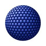 против голубых сфер сферы белых Стоковые Изображения RF