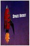 против голубого конца 4 дна nozzle космос неба ракеты к Стоковые Изображения RF