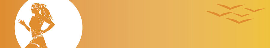 против женщины w неба бегунка птиц Стоковые Фото