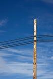 против красивейших линий приведите небо в действие Стоковое Фото