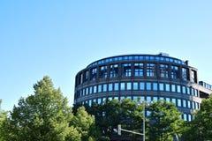 против неба здания самомоднейшего Стоковые Фотографии RF