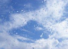 против неба падений облаков Стоковое фото RF