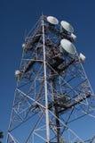 против неба связей антенн голубого Стоковая Фотография RF