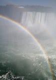против радуги падений Стоковое Изображение RF