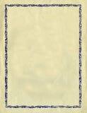 против сбора винограда tex декоративной бумаги рамки грубого иллюстрация вектора