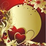 против сердца круга Стоковое Изображение RF