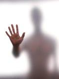 против стены человека Стоковое фото RF