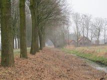 против amsterdam зодчества фона баржи канала голландских части домов прифронтово Стоковые Изображения RF