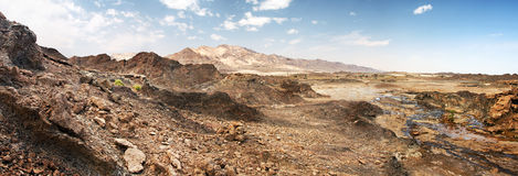 протирка UAE утесов khali пустыни al Стоковая Фотография RF