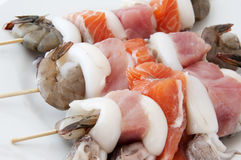 Протыкальники морепродуктов Стоковая Фотография RF