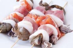 Протыкальники морепродуктов Стоковые Изображения