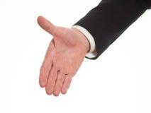 Протягиванная рука, который нужно приветствовать Стоковая Фотография