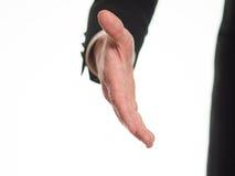 Протягиванная рука, который нужно приветствовать Стоковые Фотографии RF