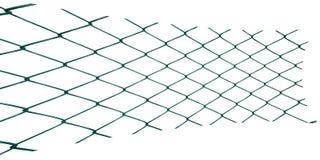 Протягиванное и сплющенное плетение металла на белой предпосылке бесплатная иллюстрация
