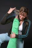 протягивать девушок Стоковая Фотография RF
