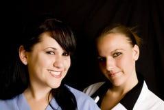 профессионалы лаборатории медицинские Стоковые Фото
