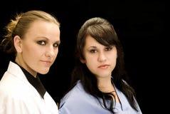 профессионалы лаборатории медицинские Стоковое Фото