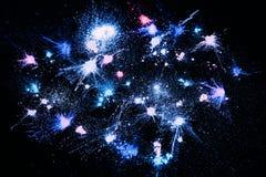 Профессиональные косметики предпосылка, порошок звезды Стоковое Фото