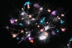 Профессиональные косметики предпосылка, порошок звезды Стоковая Фотография RF