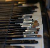 Профессиональный косметический комплект щетки Стоковая Фотография RF