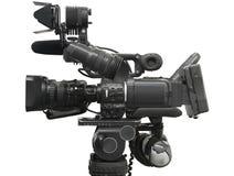 профессиональный videocamera Стоковая Фотография RF