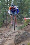 профессионал велосипедиста adam craig Стоковое фото RF