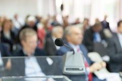 Профессионал или бизнес-конференция Корпоративное представление стоковые фото
