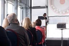 Профессионал или бизнес-конференция стоковое изображение rf
