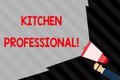 Профессионал кухни сочинительства текста почерка Смысл концепции обо бесплатная иллюстрация
