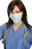 профессионал маски здоровья внимательности стоковое изображение
