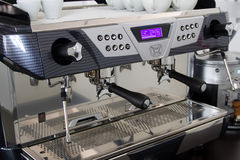 профессионал машины кофе Стоковое Изображение RF