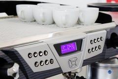 профессионал машины кофе стоковое изображение