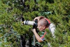 профессионал фотографа стоковое изображение rf