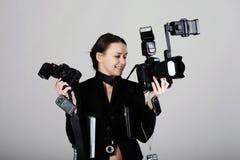 профессионал фотографа стоковые фото